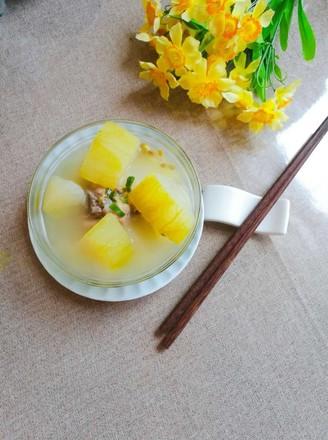 冬瓜绿豆大骨汤的做法