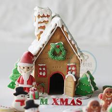 圣诞节姜饼屋