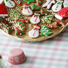 圣诞节糖霜饼干