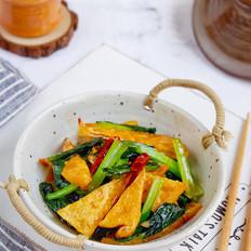 苔菜烩豆腐