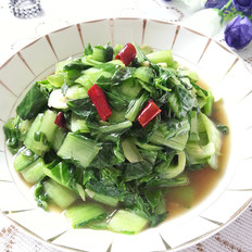 素炒小白菜