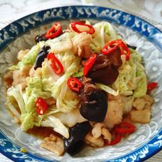 五花肉炒白菜
