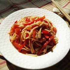 红椒杏鲍菇