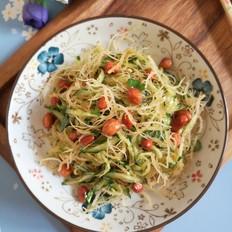 石花菜拌黄瓜
