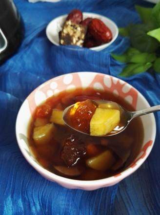 桃膠番薯紅棗羹的做法