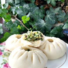 芹菜香菇大肉包