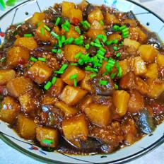 红烧茄子土豆