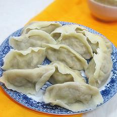 扇贝猪肉白菜饺子