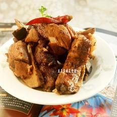 卤煮猪脊骨