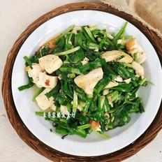 韭菜炒豆腐