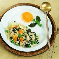 海苔蔬菜什锦炒饭