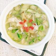 鲜美丝瓜鸡蛋汤
