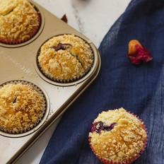 蜂蜜蓝莓马芬蛋糕