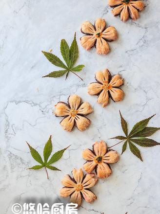 桃花酥的做法