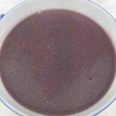 紫薯玉米糊