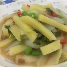 白菜炖土豆(家常做法)