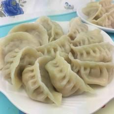 白花菜猪肉饺子