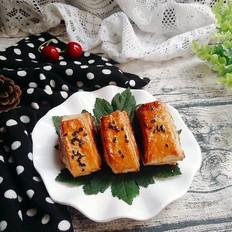 椰香红豆酥