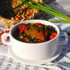 花生枸杞猪蹄汤