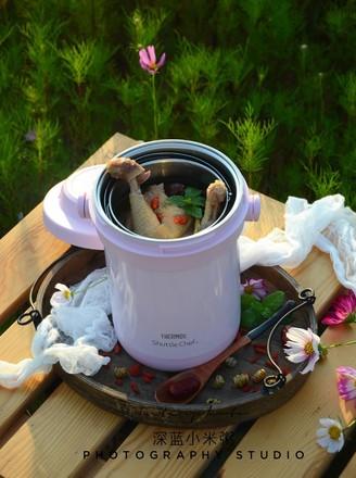 焖烧锅版石斛鸡汤的做法