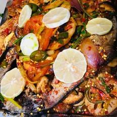 电磁炉烤鱼