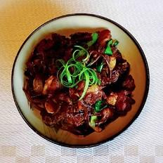茶树菇烧排骨