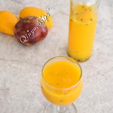 芒果百香果特饮