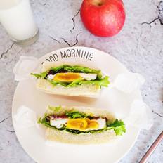 牛肉三明治#早餐#