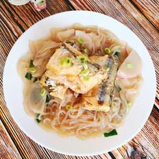 针梁鱼炖水萝卜