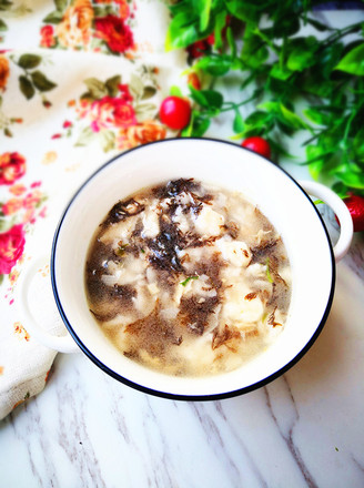 海菜疙瘩湯的做法