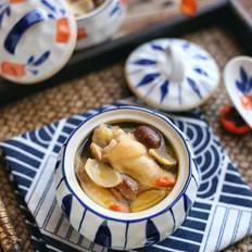 板栗鸡汤的做法大全
