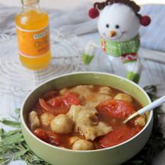咖喱番茄鱼丸小馄饨