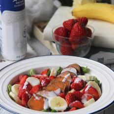 红薯水果沙拉