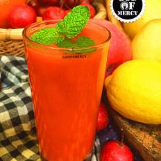 瘦身抗癌的苹果胡萝卜汁