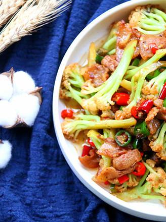 好吃的干锅花菜的做法