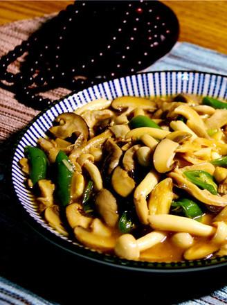 清淡的下飯菜炒菌菇的做法