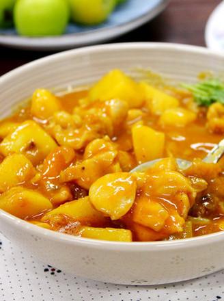 肉最嫩的咖喱土豆鸡肉饭的做法