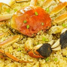 大闸蟹焖饭