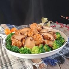 香菇炒豆腐泡
