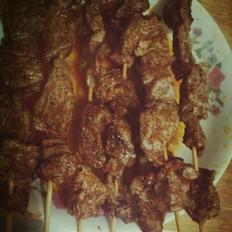 微波炉烤肉串