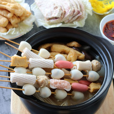 杂烩浓汤小火锅#午餐#