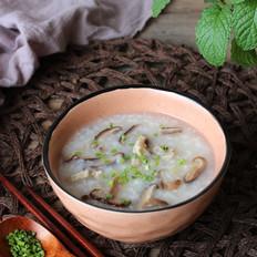 香菇猪骨粥
