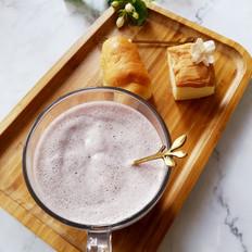 藜麦蓝莓奶昔