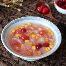 秋梨玉米银耳汤