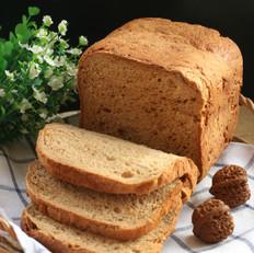 一键式无油红糖核桃面包