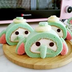 小飞象蛋糕卷