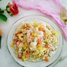 土豆丝蛋炒饭