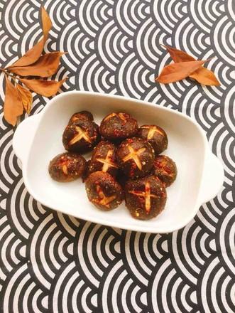 烤香菇的做法