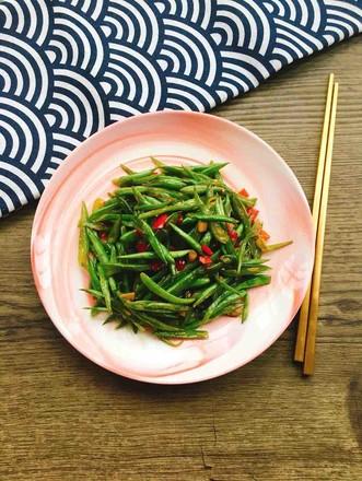 剁椒炒四季豆的做法