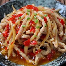 泡姜鱼香肉丝